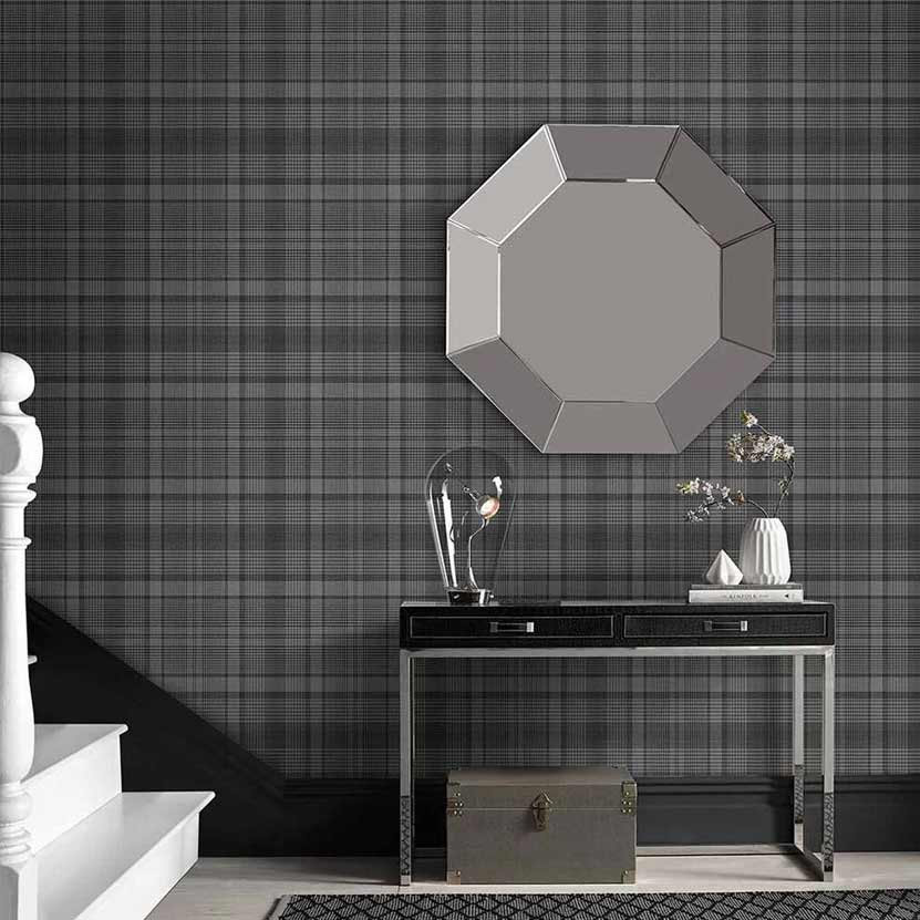Heritage Plaid Wallpaper